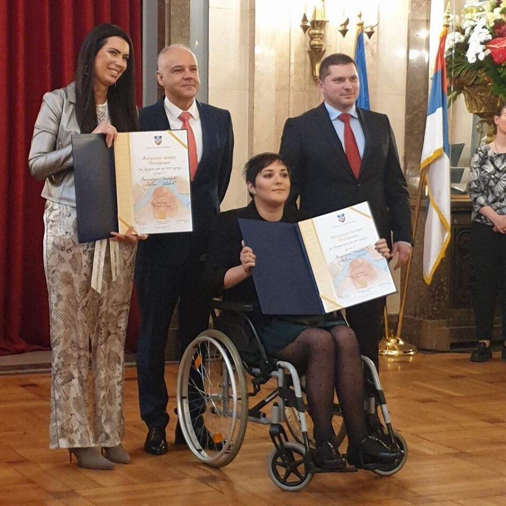 Herojsko delo - SMA Srbija